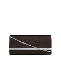 Dorothy Perkins - Black large structured clutch bag