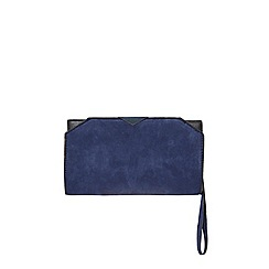 Dorothy Perkins - Navy triangle bar wristlet