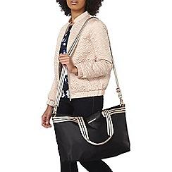 Dorothy Perkins - Black sport strap holdall bag
