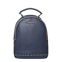Dorothy Perkins - Navy fringe backpack