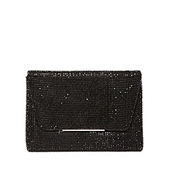 Dorothy Perkins - Black chainmail clutch