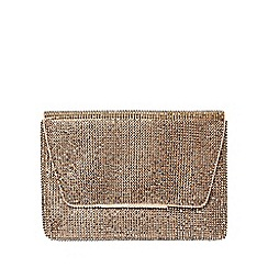 Dorothy Perkins - Gold chainmail clutch