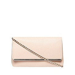 Dorothy Perkins - Blush pouch bar clutch bag