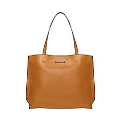 Dorothy Perkins - Tan stud side shopper bag