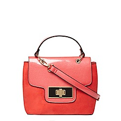 Dorothy Perkins - Coral top handle crossbody bag
