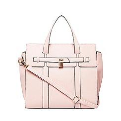 Dorothy Perkins - Pink lock front tote bag