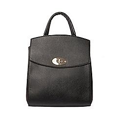 Dorothy Perkins - Black structured backpack