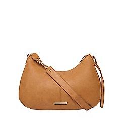 Dorothy Perkins - Tan crescent shoulder bag