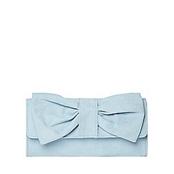 Dorothy Perkins - Blue bow clutch