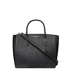 Dorothy Perkins - Black oversized tote bag