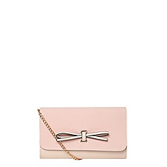 Dorothy Perkins - Pink bow clutch
