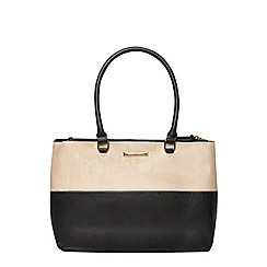 Dorothy Perkins - Sesame double zip tote bag