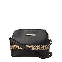 Dorothy Perkins - Black toaster cross body bag