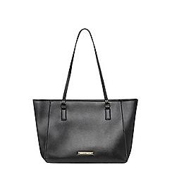 Dorothy Perkins - Black landscape tote bag