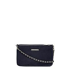 Dorothy Perkins - Navy chain shoulder bag