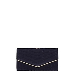 Dorothy Perkins - Navy quilt dome purse