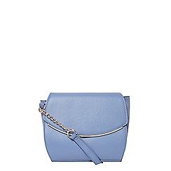 Dorothy Perkins - Blue curve crossbody bag