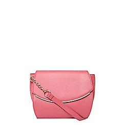 Dorothy Perkins - Pink curve crossbody bag
