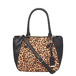 Dorothy Perkins - Lily and franc leopard print bowler bag