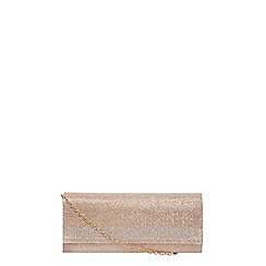 Dorothy Perkins - Showcase gold gem clutch