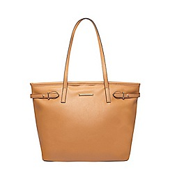 Dorothy Perkins - Tan landscape shopper bag