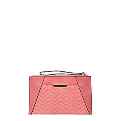 Dorothy Perkins - Pink slip pocket wristlet