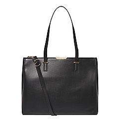 Dorothy Perkins - Black oversized tote bag