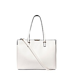 Dorothy Perkins - White oversized smart tote