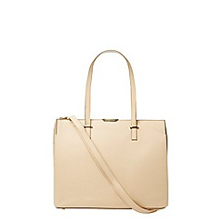 Dorothy Perkins - Nude oversized smart tote
