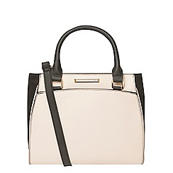 Dorothy Perkins - Bone mini pipe tote bag