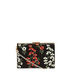 Dorothy Perkins - Green lace box clutch