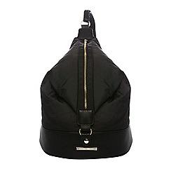Dorothy Perkins - Black duffle backpack