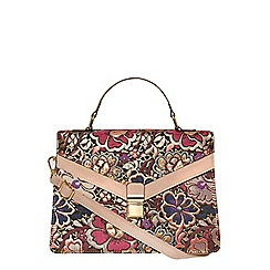 Dorothy Perkins - Pink jacquard handle bag