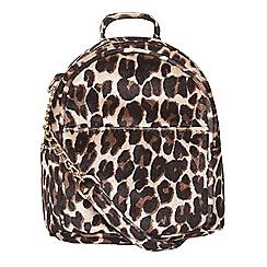 Dorothy Perkins - Leopard print mini cross body bag