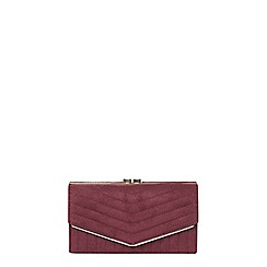Dorothy Perkins - Red quilt dome purse