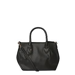 Dorothy Perkins - Black mini soft tote bag