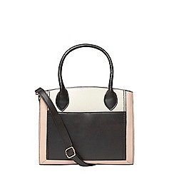 Dorothy Perkins - Black structured mini tote bag