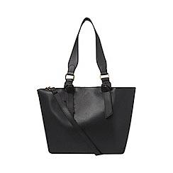 Dorothy Perkins - Black oversized handle tote bag