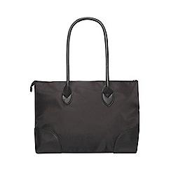 Dorothy Perkins - Black nylon shopper bag