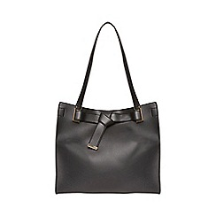 Dorothy Perkins - Black knot body shopper bag