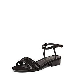 Dorothy Perkins - Black fling block heel sandals