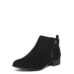 Dorothy Perkins - Black 'Micha' zip ankle boots