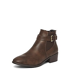 Dorothy Perkins - Chocolate 'Molino' boots
