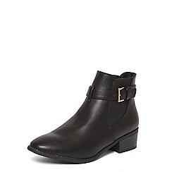 Dorothy Perkins - Black 'molino' jodhpur boots