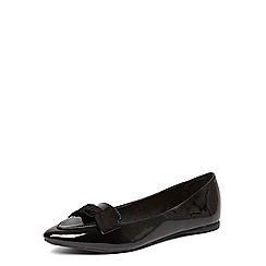 Dorothy Perkins - Black 'hayden' bow pointed pumps