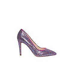 Dorothy Perkins - Multi coloured glitter 'emily' pointed court shoes