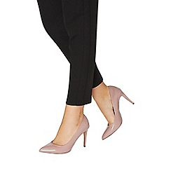 Dorothy Perkins - Pink rose patent 'emily' pointed court shoes