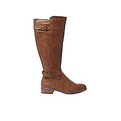 Dorothy Perkins - Brown 'Trinity' knee high boots