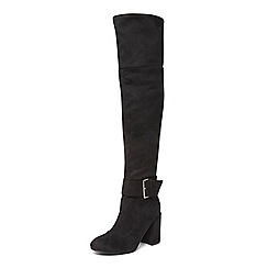 Dorothy Perkins - Black 'tabitha' over the knee boots