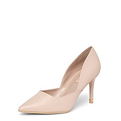 Dorothy Perkins - Nude 'Eliza' dorsay court shoes